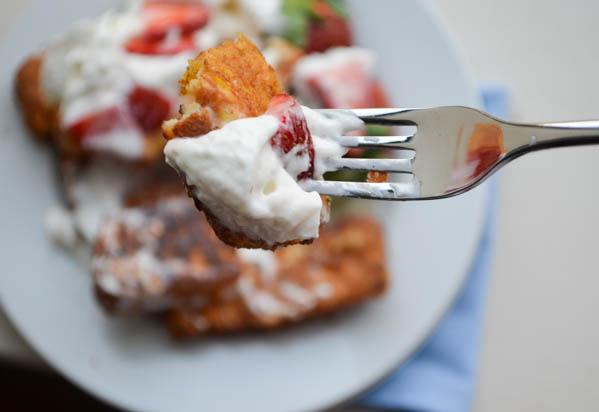 ANGEL FOOD CAKE FRENCH TOAST STICKS from Rachel Schultz