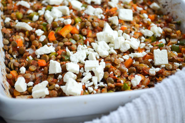 ROASTED LENTILS WITH BELL PEPPERS from Rachel Schultz-4