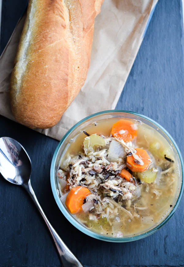 SLOW COOKER CHICKEN & WILD RICE SOUP from Rachel Schultz-2