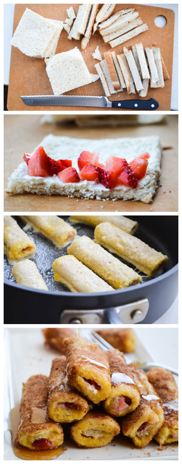 STRAWBERRY FRENCH TOAST CANNOLIS from Rachel Schultz 7