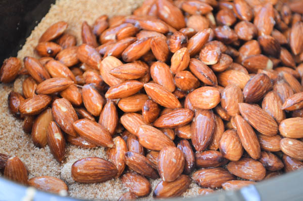 SUGAR ROASTED SLOW COOKER ALMONDS from Rachel Schultz-3