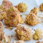 CRUNCHY & SPICY BAKED CAULIFLOWER