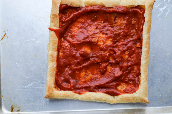 PIZZA PUFF PASTRY from Rachel Schultz