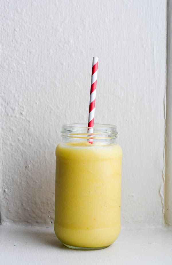 WHIPPED PINEAPPLE SMOOTHIE from Rachel Schultz