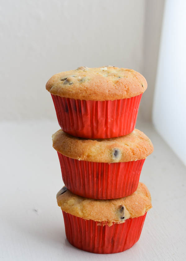 CHOCOLATE CHIP MUFFINS from Rachel Schultz