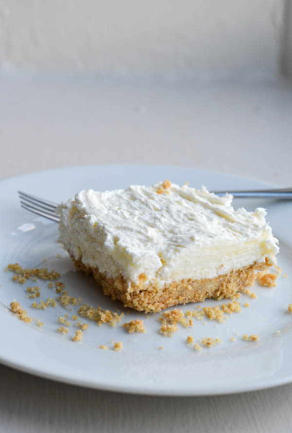 NO BAKE CHEESECAKE from Rachel Schultz