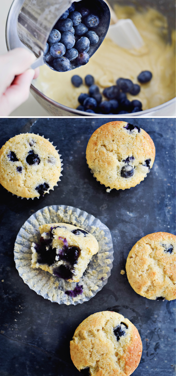 PERFECT BLUEBERRY MUFFINS
