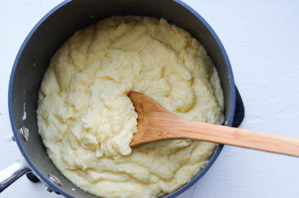COCONUT POLENTA from Rachel Schultz
