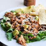 CROCK POT CHICKEN TACO SALAD