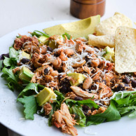 CROCK POT CHICKEN TACO SALAD from Rachel Schultz-2