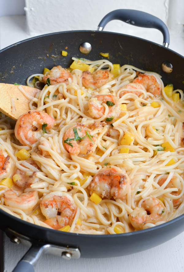 ONE PAN COCONUT SHRIMP & NOODLES from Rachel Schultz-4