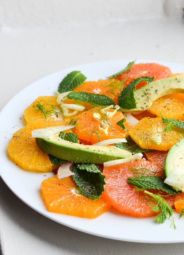 CITRUS SALAD WITH FENNEL & AVOCADO from Rachel Schultz-4