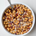 POMEGRANATE & GARBANZO BEAN SALAD