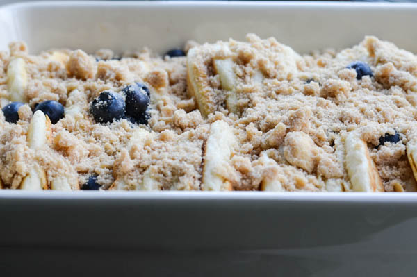 BLUEBERRY PANCAKE FRENCH TOAST BAKE from Rachel Schultz-2