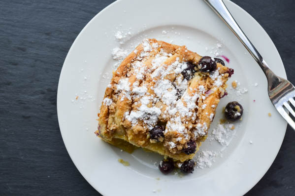 BLUEBERRY PANCAKE FRENCH TOAST BAKE from Rachel Schultz-3