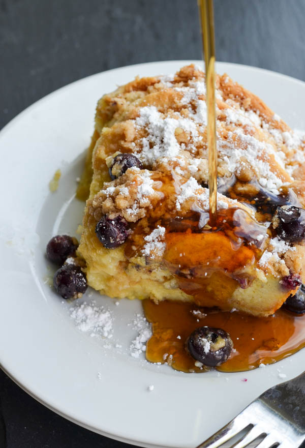 BLUEBERRY PANCAKE FRENCH TOAST BAKE from Rachel Schultz-4