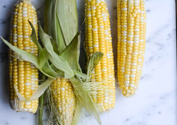 BUTTER BOILED CORN ON THE COB from Rachel Schultz