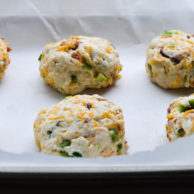 CHEESY BACON & JALAPEÑO BISCUITS from Rachel Schultz