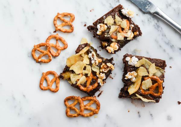 JUNK FOOD BROWNIES from Rachel Schultz