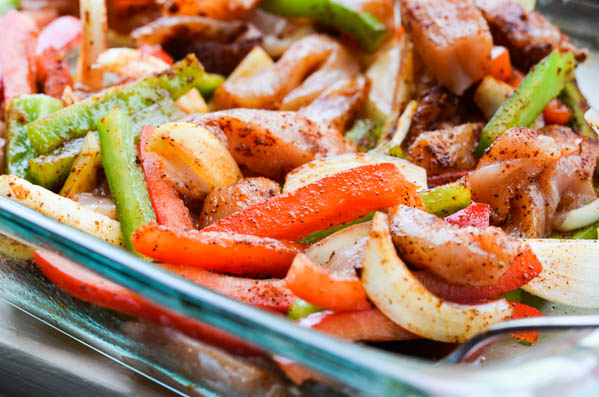 OVEN ROASTED FAJITAS from Rachel Schultz