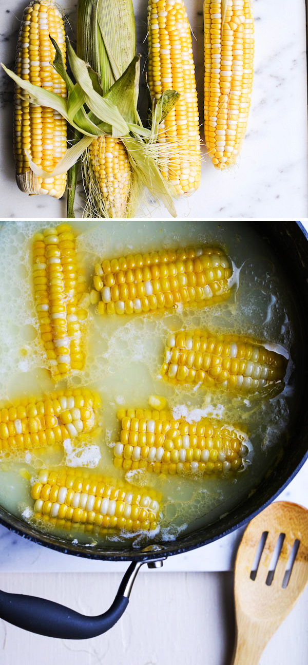 THE BEST WAY TO BOIL CORN ON THE COB