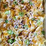 BBQ CHICKEN & PINEAPPLE NACHOS