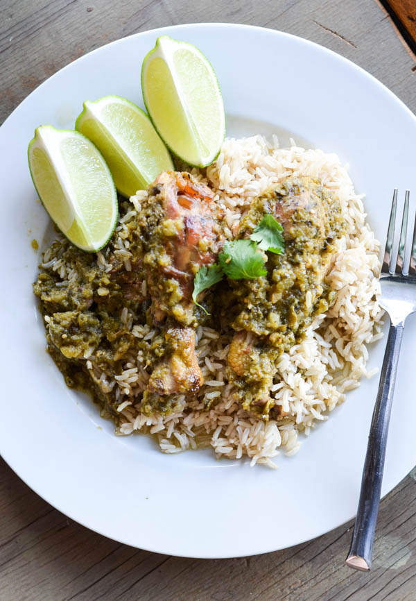 CROCK POT CHICKEN VERDE from Rachel Schultz