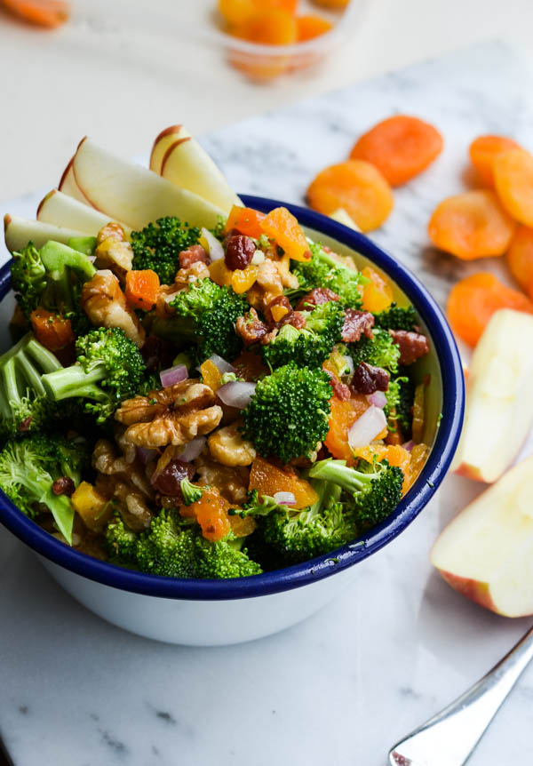 APRICOT BROCCOLI SALAD from Rachel Schultz