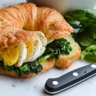 BREAKFAST CROISSANT SANDWICH from Rachel Schultz