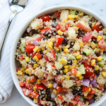 NECTARINE & QUINOA CHOPPED SALAD