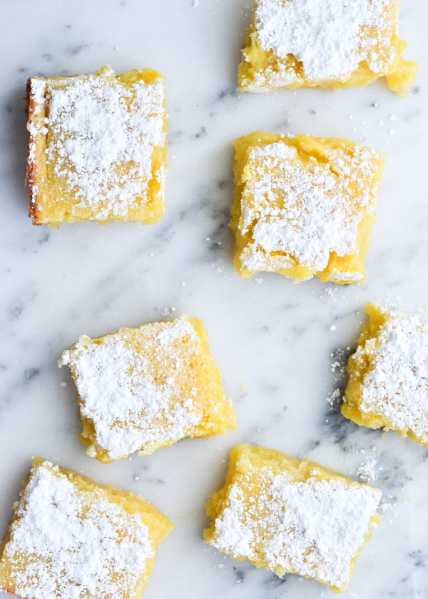 CLASSIC LEMON BARS from Rachel Schultz