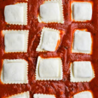 EASY BAKED RAVIOLI from Rachel Schultz