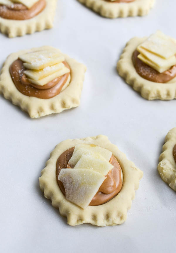 PEANUT BUTTER APPLE PASTRIES from Rachel Schultz
