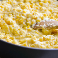 CORN SPOON BREAD from Rachel Schultz