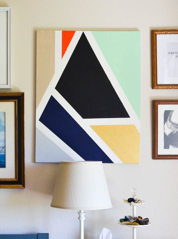GEOMETRIC MOSAIC ART DIY