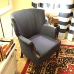 UPHOLSTERING THE ARMCHAIR