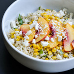 NECTARINE RICE SALAD