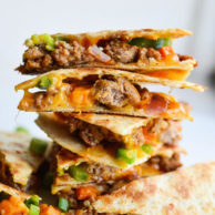 sausage-sweet-potato-quesadillas