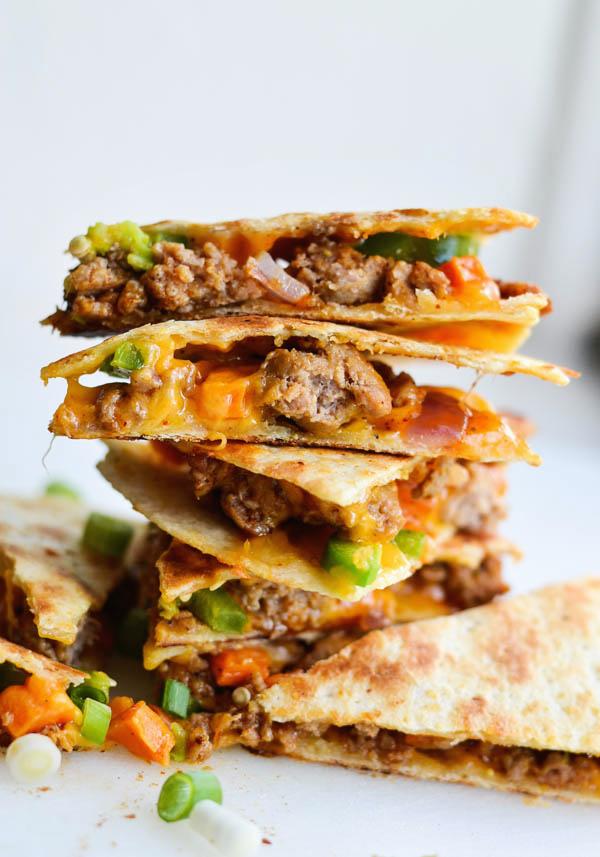 sausage-sweet-potato-quesadillas