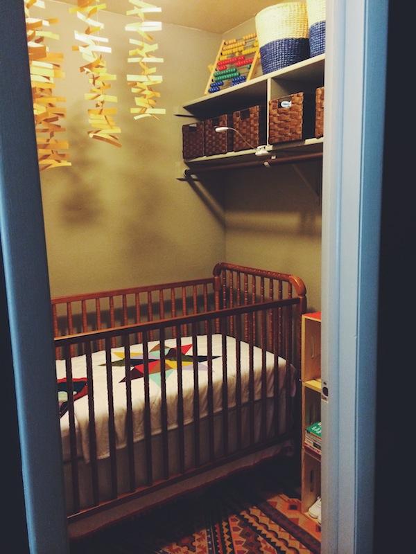 Rachel Schultz Finished Nook Turned Nursery