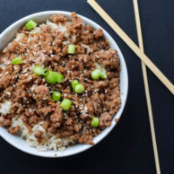 SIMPLE KOREAN BEEF from Rachel Schultz