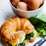 BREAKFAST CROISSANT SANDWICH from Rachel Schultz