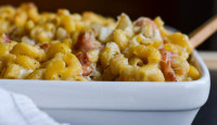 Blue Cheese, Bacon & Roasted Pear Macaroni