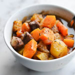 WINTER SQUASH BEEF STEW