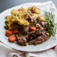 CHUCK ROAST SHEPHERD'S PIE from Rachel Schultz