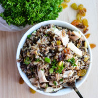 CRANBERRY WILD RICE SALAD from Rachel Schultz