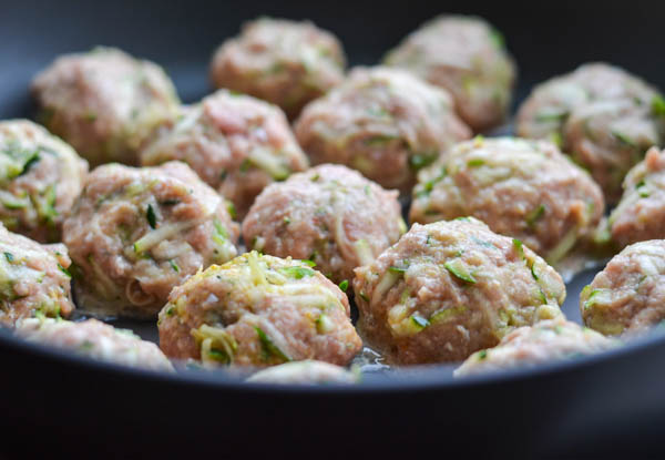 THAI TURKEY MEATBALLS from Rachel Schultz