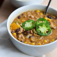 HUMMUS CHILI from Rachel Schultz