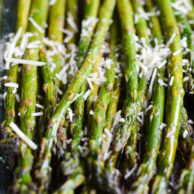 ROASTED ASPARAGUS from Rachel Schultz