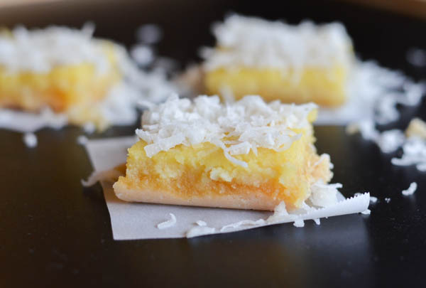 GLUTEN FREE COCONUT LEMON BARS from Rachel Schultz-3